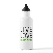Live Love Homeschool Water Bottle