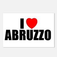 I Love Abruzzo, Italy Postcards (Package of 8)