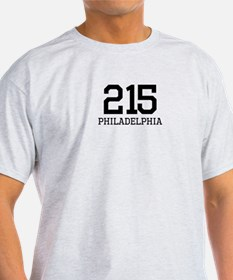 Philadelphia Area Code 215 T-Shirt
