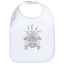 Mind Blown Sugar Skull Bib