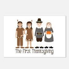 The First Thanksgiving Postcards (Package of 8)
