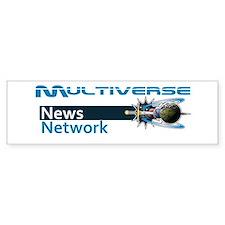 Multiverse News Network Bumper Car Sticker