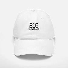 Cleveland Area Code 216 Baseball Baseball Cap
