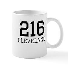 Cleveland Area Code 216 Mugs