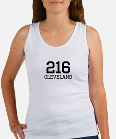 Cleveland Area Code 216 Tank Top