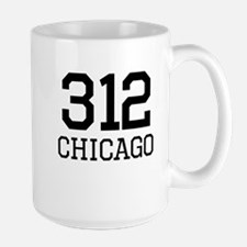 Chicago Area Code 312 Mugs