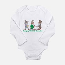 Hanging With My Gnomie Long Sleeve Infant Bodysuit