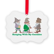 Hanging With My Gnomies Ornament