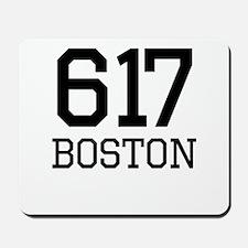 Boston Area Code 617 Mousepad