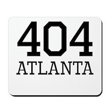 Atlanta Area Code 404 Mousepad