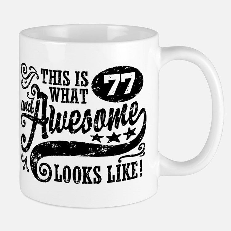 77th Birthday Mug