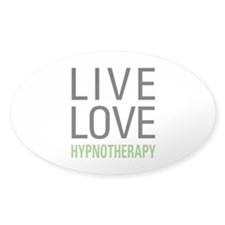 Live Love Hypnotherapy Decal