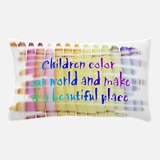 children color our world.png Pillow Case