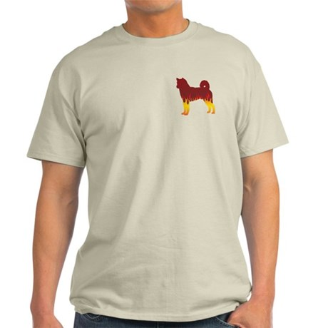 Shiba Flames Light T-Shirt