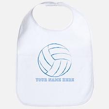 Custom Blue Volleyball Bib