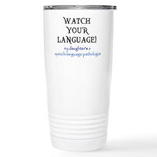 Spiffy speech Thermos Mug