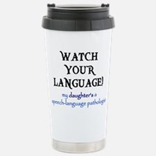 Spiffy speech Thermos Mug