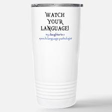 Cool Speech funny Travel Mug