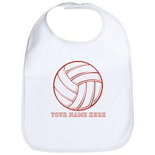 Custom Red Volleyball Bib