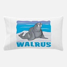 Kid Friendly Walrus Pillow Case