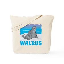 Kid Friendly Walrus Tote Bag