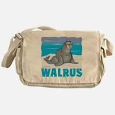 Kid Friendly Walrus Messenger Bag