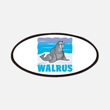 Kid Friendly Walrus Patches