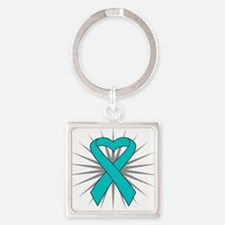 Scleroderma Square Keychain