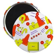 """Cute Rally o 2.25"""" Magnet (10 pack)"""