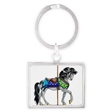 The Carousel Horse Keychains