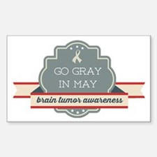 Go Gray In May Decal