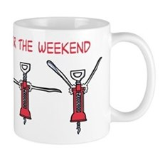 Gym for the Weekend Mugs