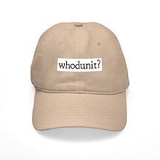 whodunit Baseball Cap