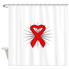 Heart Disease Shower Curtain