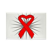 Heart Disease Rectangle Magnet