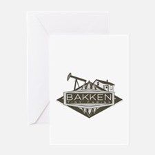 Bakken Tiny Cabins Greeting Cards