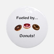 Fueled by Donuts Ornament (Round)