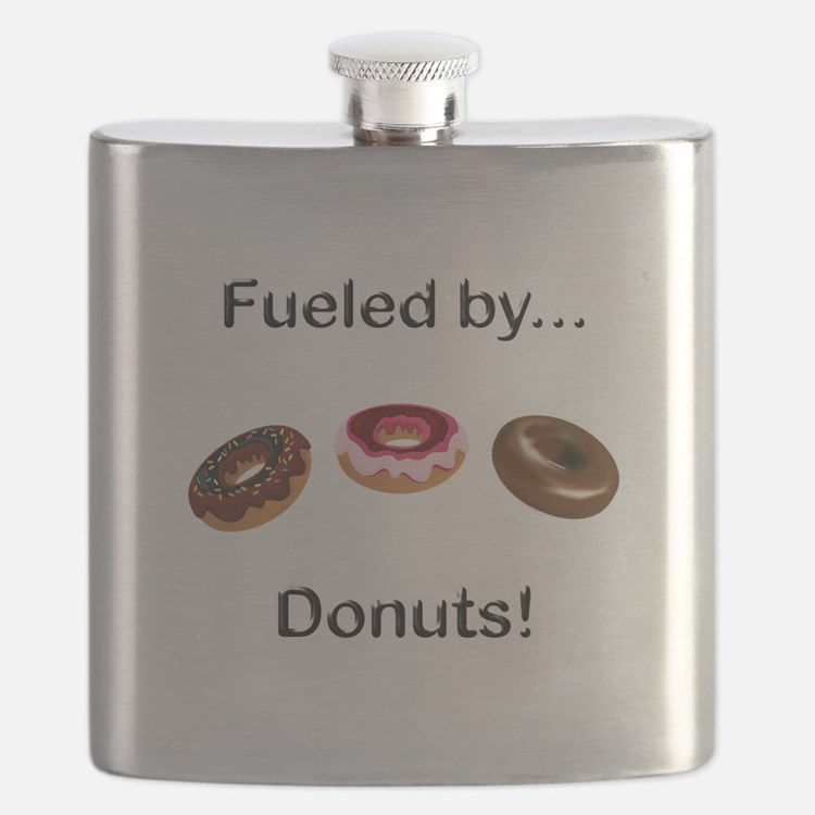 Fueled by Donuts Flask