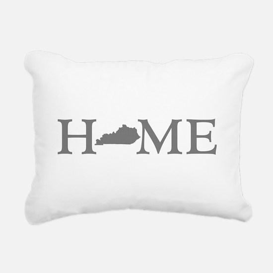 Kentucky Home Rectangular Canvas Pillow