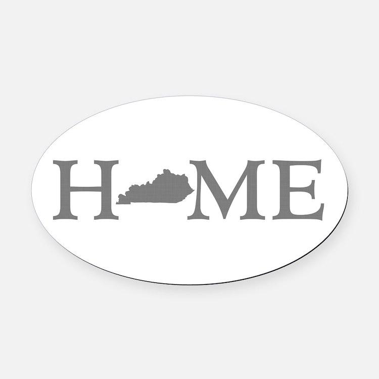 Kentucky Home Oval Car Magnet