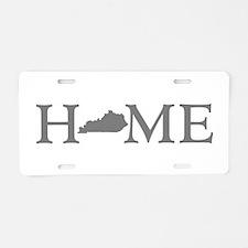 Kentucky Home Aluminum License Plate
