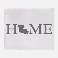 Louisiana Home Throw Blanket