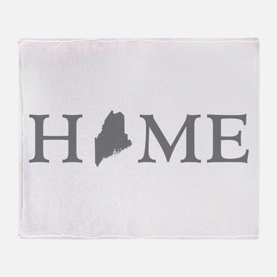 Maine Home Throw Blanket
