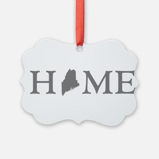 Maine Home Ornament