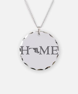 Maryland Home Necklace