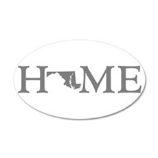 Maryland Home Wall Decal