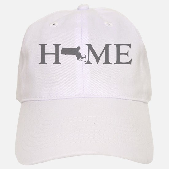 Massachusetts Home Baseball Baseball Cap