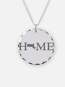 Massachusetts Home Necklace