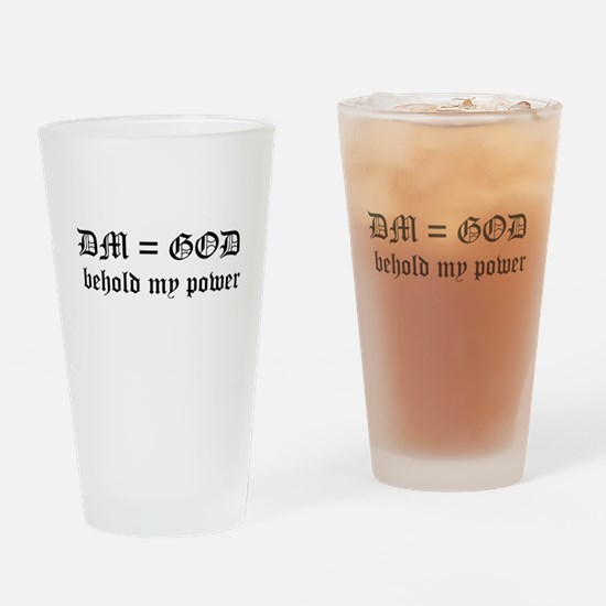 Dmequalsgod.png Drinking Glass