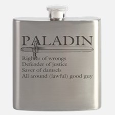 Paladin - Righter Of Wrongs Defender Justice Flask
